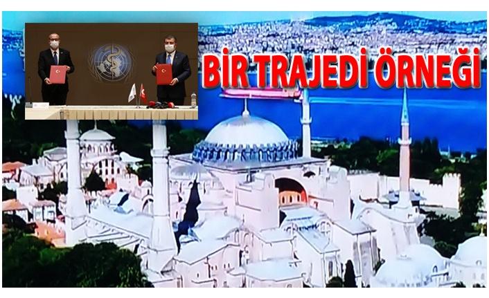 İSTANBUL'DA AYASOFYA İLE BİRLİKTE  DSÖ'NÜN  ŞUBE AÇMA KARARI!