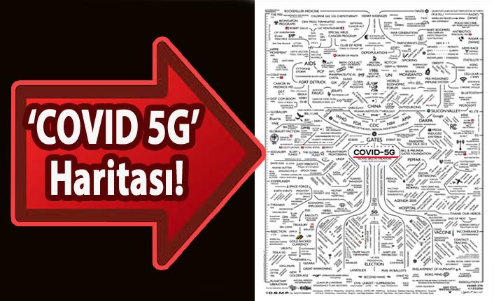 'COVID 5G' Haritası!