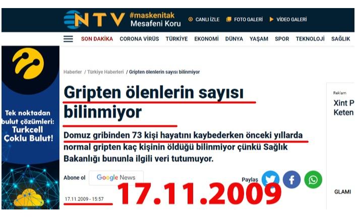 NTV FERYADIMIZI 2009 YILINDA DUYMUŞ!