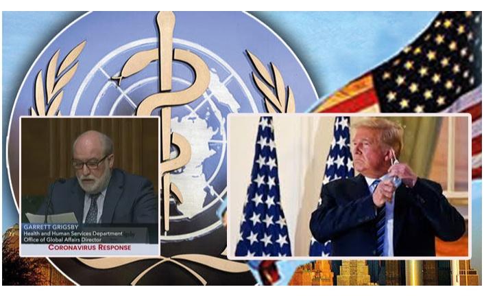 ABD'li Trump Ekibi  DSÖ'yü Dağıttı.