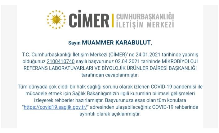 """ERDOĞAN'IN """"ALDATILDIĞINI"""" SAĞLIK BAKANLIĞI CİMER İLE DOĞRULADI!"""