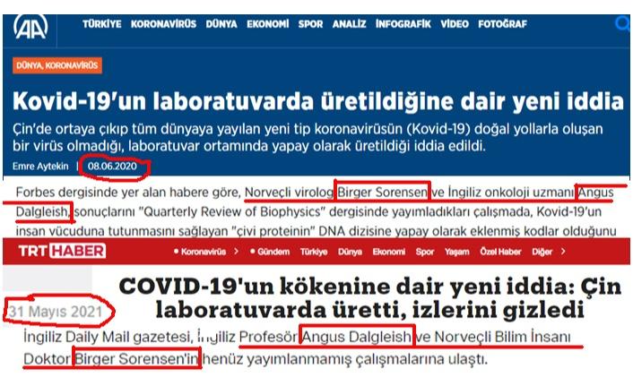 COVİD-19 YALANI BİTTİ.
