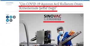 SİNOVAC AŞISI OLANLARA GEÇMİŞ...
