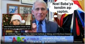 NOEL BABA'YA AŞI YAPTIM!