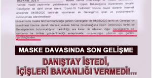 İDARE MASKEYİ SAVUNAMADI!...
